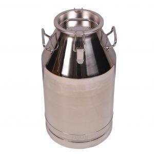 PASSAN Paslanmaz 40 lt süt güğümü dar ağızlı